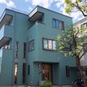 東京都江戸川区I様邸外壁塗装・屋上防水・屋根塗装工事